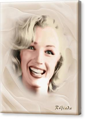 Smile Of A Goddess Canvas Print