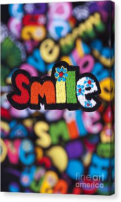 Smile Canvas Print by Tim Gainey