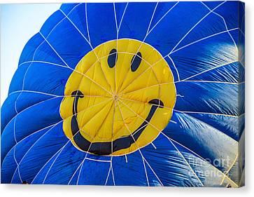 Smiley Balloon Canvas Print by Robert Bales