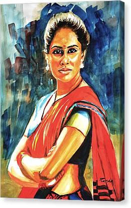 Smita Canvas Print