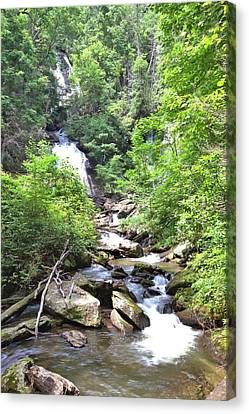 Smith Creek Downstream Of Anna Ruby Falls - 3 Canvas Print