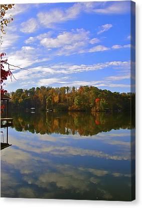 Smith Mt. Lake Reflection Canvas Print