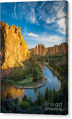 Smith Rock River Bend Canvas Print