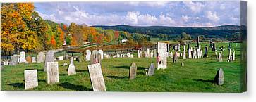 Smithfield Cemetery And Farms Canvas Print