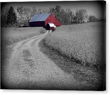 Smithsburg Barn Canvas Print by Robert Geary