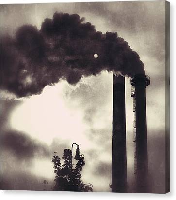 Smoke Stack Canvas Print