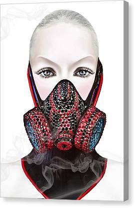 Smoke Canvas Print by Yosi Cupano