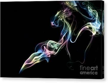 Smokey 5 Canvas Print by Steve Purnell