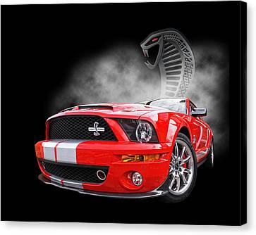 Smokin' Cobra Power - Shelby Kr Canvas Print