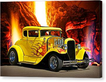 Smok'n Hot Coupe Canvas Print