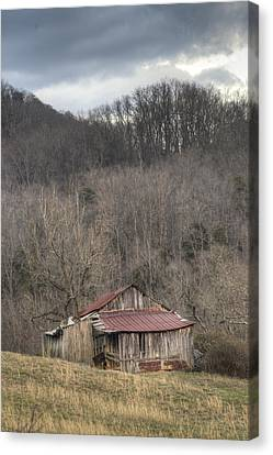 Smoky Mountain Barn 1 Canvas Print by Douglas Barnett