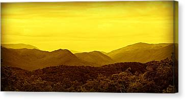 Smoky Mountain Glow Canvas Print