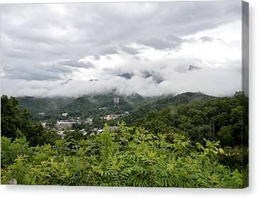 Smoky Mountain Mist Canvas Print