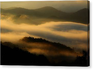 Smoky Mountain Spirits Canvas Print by Michael Eingle