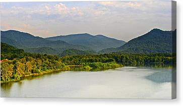 Smoky Mountains Canvas Print by Frozen in Time Fine Art Photography