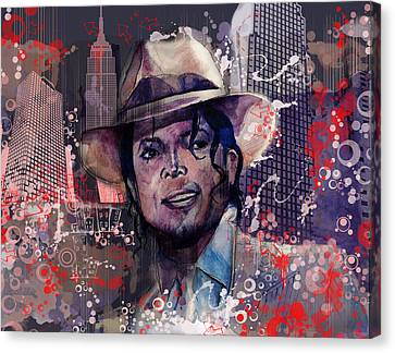 Smooth Criminal Canvas Print by Bekim Art
