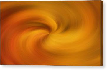 Spin Canvas Print - Smooth Golden Swirl by Dan Sproul