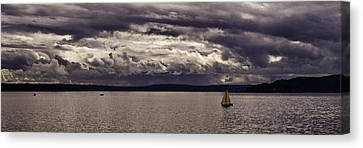 Smooth Sailing Canvas Print by Wayne Meyer