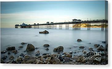 Smooth Waters Canvas Print by Adrian Evans