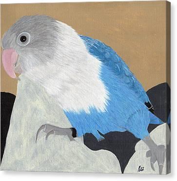 Smurf Canvas Print by Bav Patel