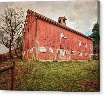 Smyrski Farm  Canvas Print by Bill Wakeley