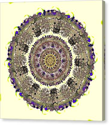 Self-knowledge Canvas Print - Snake Mandala by Anastasiya Malakhova