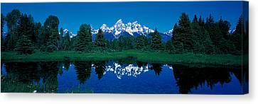 Snake River & Teton Range Grand Teton Canvas Print