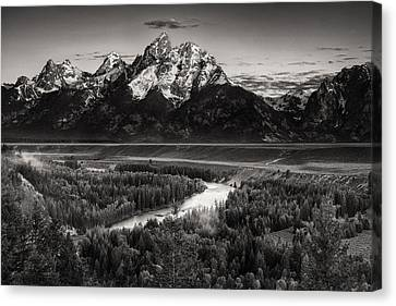 Snake River View Canvas Print by Andrew Soundarajan