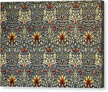 Snakeshead Canvas Print by William Morris