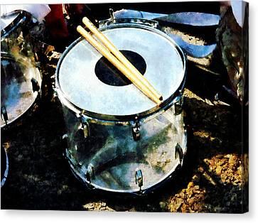 Snare Drum Canvas Print by Susan Savad
