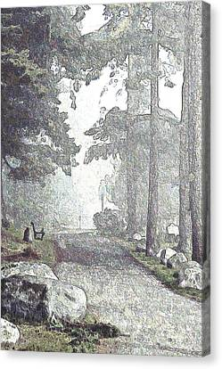 Snicket Fog Canvas Print
