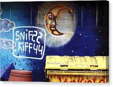 Snif Kiff Canvas Print by John Rizzuto