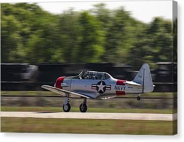 Canvas Print featuring the photograph SNJ by Steven Richardson