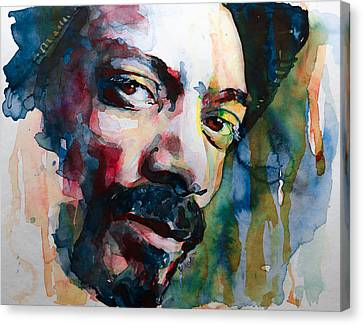 Snoop Dogg Canvas Print by Laur Iduc