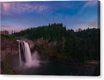 Snoqualmie Falls Canvas Print by Gene Garnace