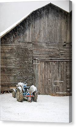 Snow Day Canvas Print by Cecile Brion