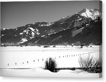 Snow In Piesendorf IIi Canvas Print