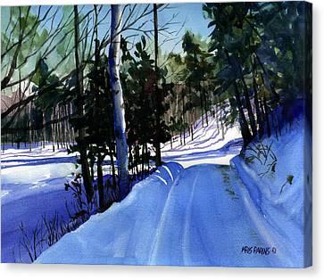 Snowbound Canvas Print by Kris Parins