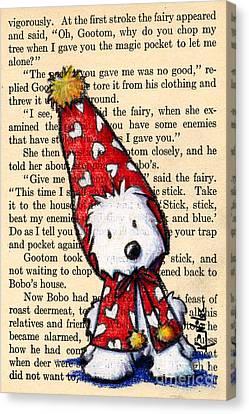 Snowbunny Westie Canvas Print by Kim Niles