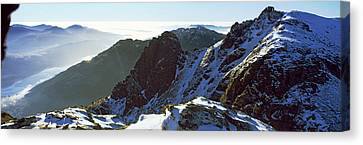 Snowcapped Mountain Range, The Cobbler Canvas Print by Panoramic Images