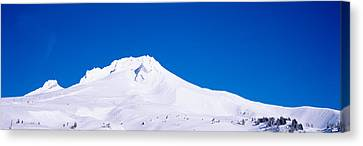 Snowcapped Mountains, Mt Hood, Oregon Canvas Print