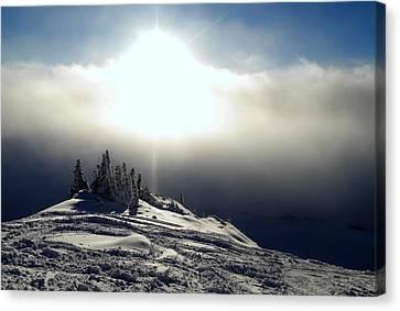 Snowcloud Sunburst Canvas Print