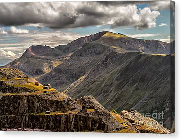 Snowdonia Canvas Print by Adrian Evans
