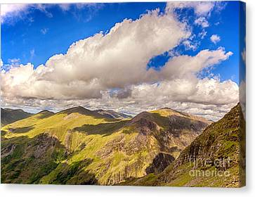 Snowdonia Canvas Print by Jane Rix