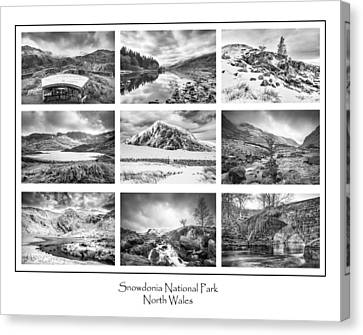 Snowdonia National Park  Canvas Print by Christine Smart