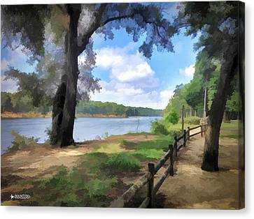 Snows Cut Late Summer Afternoon Canvas Print by Phil Mancuso