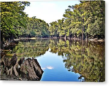 Canvas Print featuring the photograph Snows Lake by Linda Brown