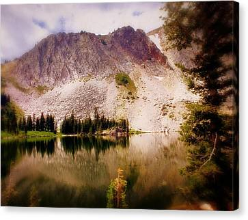 Snowy Mountains Loop 2 Canvas Print by Marty Koch