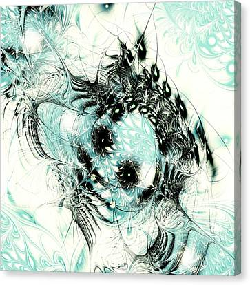 Snowy Owl Canvas Print by Anastasiya Malakhova