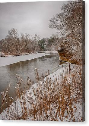 Snowy River Canvas Print by Jim Kuchler